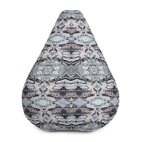 Intricate marbling patterns