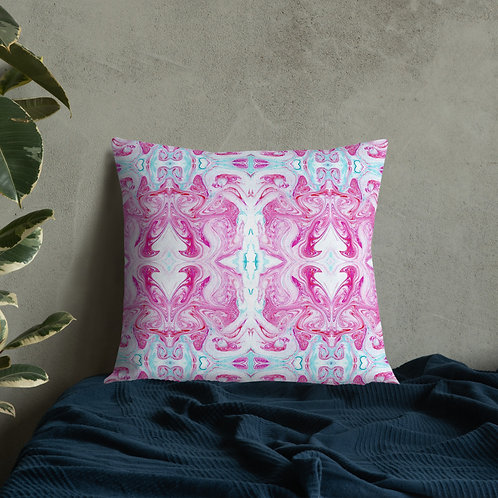 Pink/Turquoise Arabesque