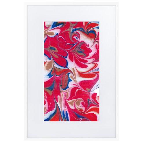 Red arabesque