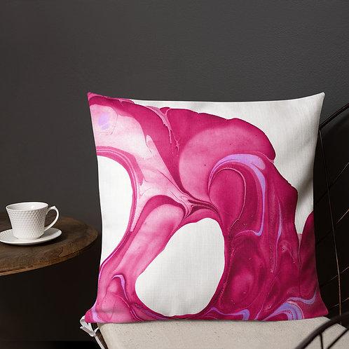 Abstract magenta patterns