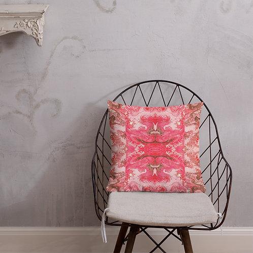 Pink Collage Marbling