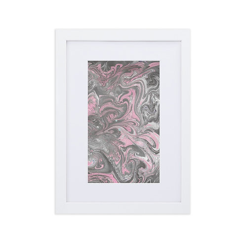 Paisley inspired marbling patterns