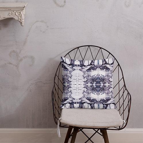 Denim and violet marbled patterns