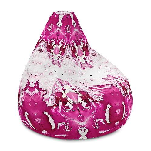 Pink marbling pattens