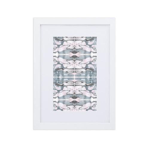 Symmetrical marbling patterns