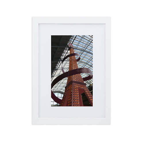 The Eiffel Tower at St. Pancras International