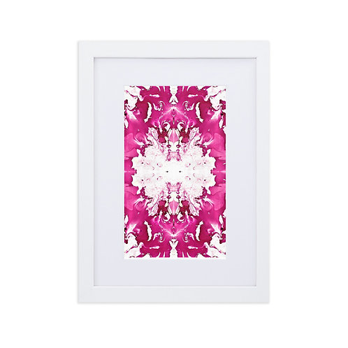 Magenta arabesque
