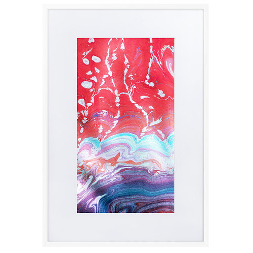 Whirlwind with red sky