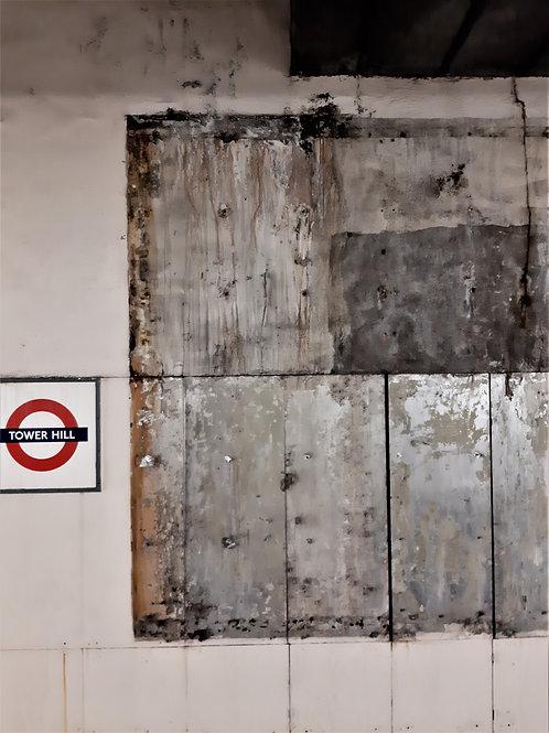 London underground weathered patterns