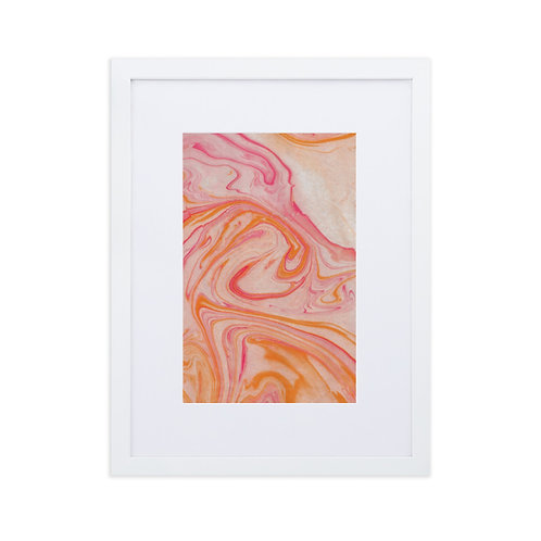 Funky swirls-marbling collection