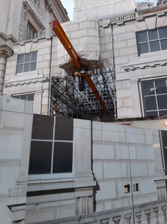 Work in progress at Somerset House IV