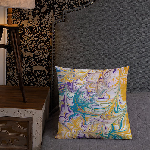 Marbling patterned
