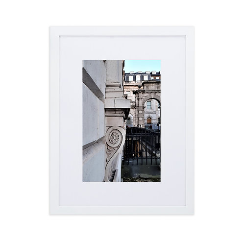 Neoclassical patterns at Somerset House, London