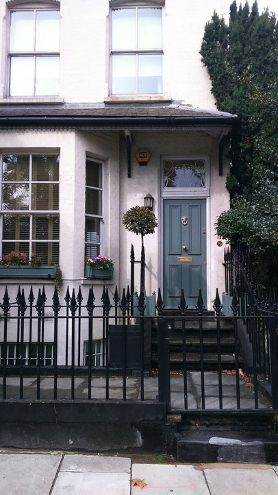 London facade details