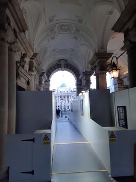 Refurbishment work at Somerset House