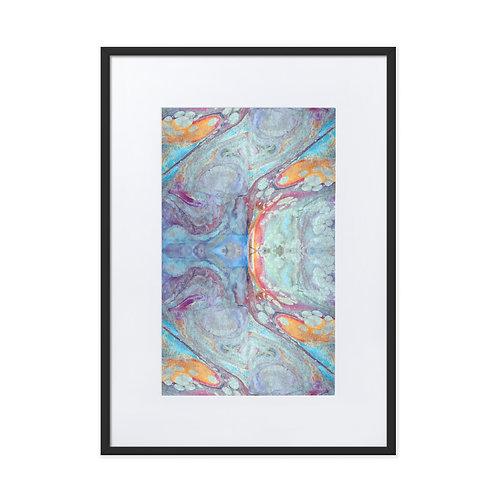 Turquoise nebulosa