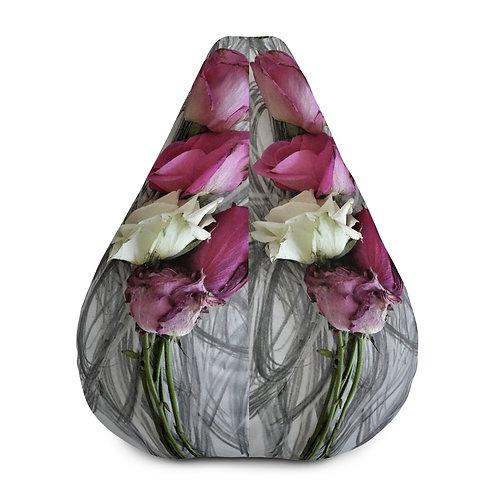 Scattered magenta petals