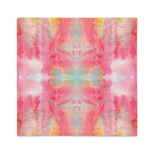 Magenta marbling patterns
