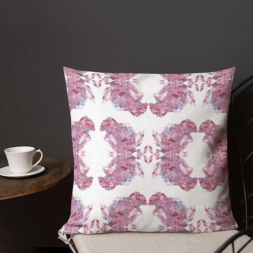 Pink marbling patterns