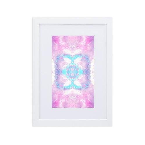 Lilac marbling patterns