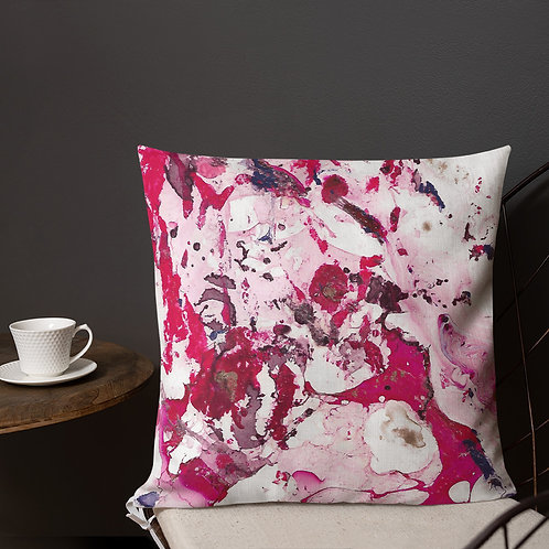 Abstract marbling patterns