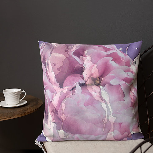 Lilac overlay with petals
