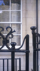 Ironwork with Georgian reflections