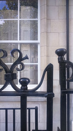 Ironwork with Georgian reflections