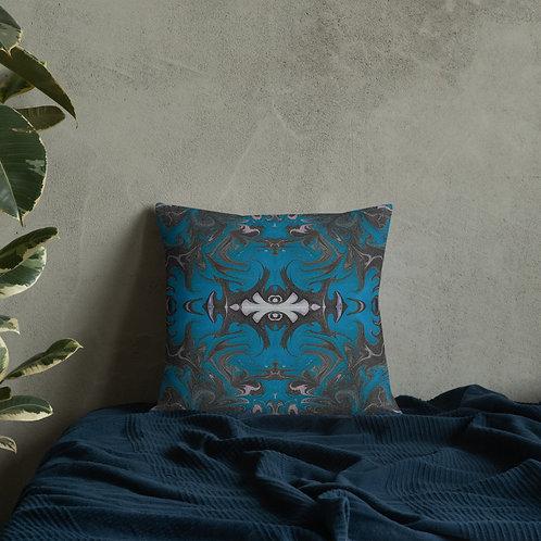 Blue cobalt ornate