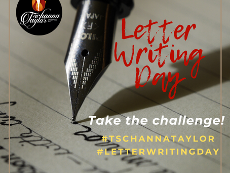 Letter Writing Day Challenge
