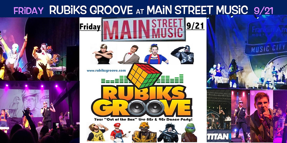 Rubiks Groove Live!