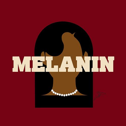 Melanin Print REDZ