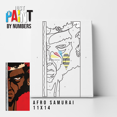 "JustPaint by Numbers ""AfroSam"""