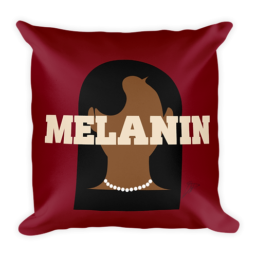 Melanin Pillow REDZ