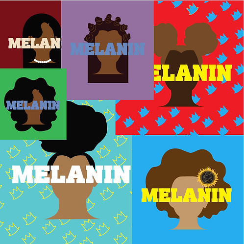 Custom Melanin Print