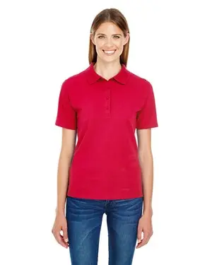 "Ladies Polo Red- W/ ""Secaucus Patriots"" Embroidered logo"