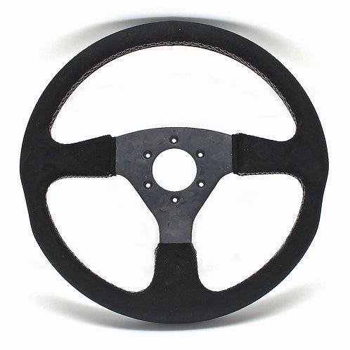 #11 Dry Carbon Steering Marble / Alcantara