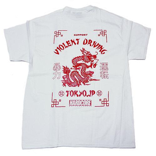 HC Dragon Power Tee Shirts WHT