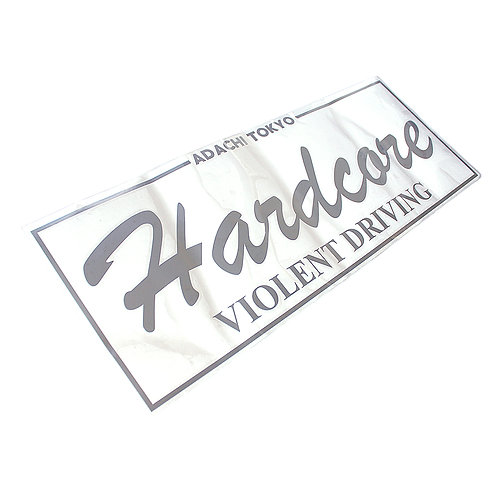 HC REAR WINDOW DECAL SILVER