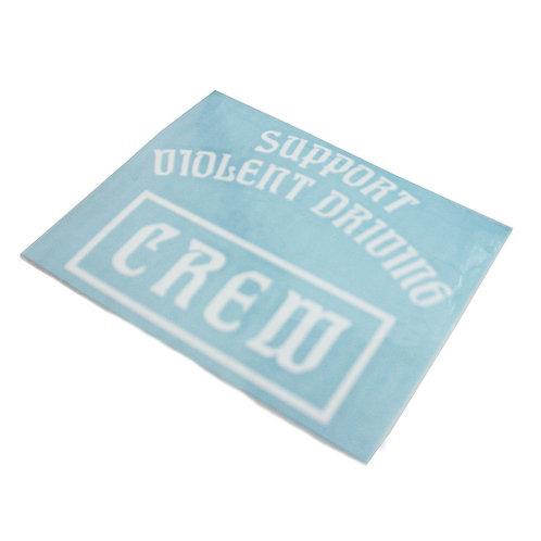 HC Crew Decal Sticker Wht