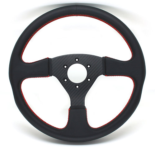 #2 Dry Carbon Steering/Twill wtih Smooth Leather