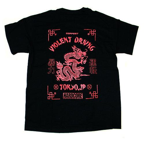 HC Dragon Power Tee Shirts BLK