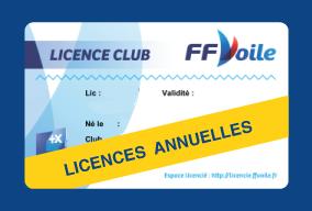 Licences FFV 2021