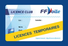 Licences FFV temporaires