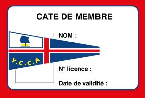 Cotisation membre du Club YCCA