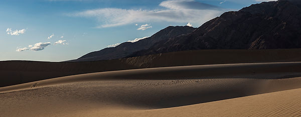 Mesquite Dunes, Death Valley