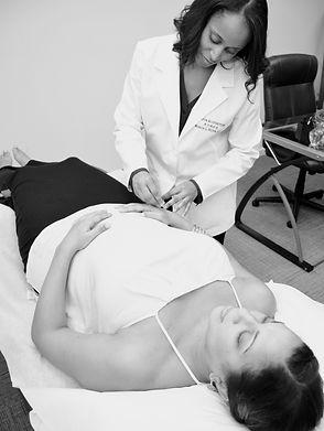 Hilton Acupuncture Patient Treatment