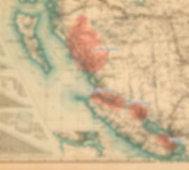 British Columbia Map 1923