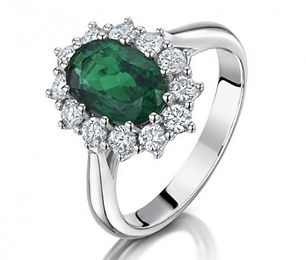 emerald-and-diamond-cluster-ring-in-plat