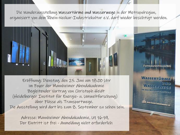 Ausstellung: Wassertürme und Wasserwege